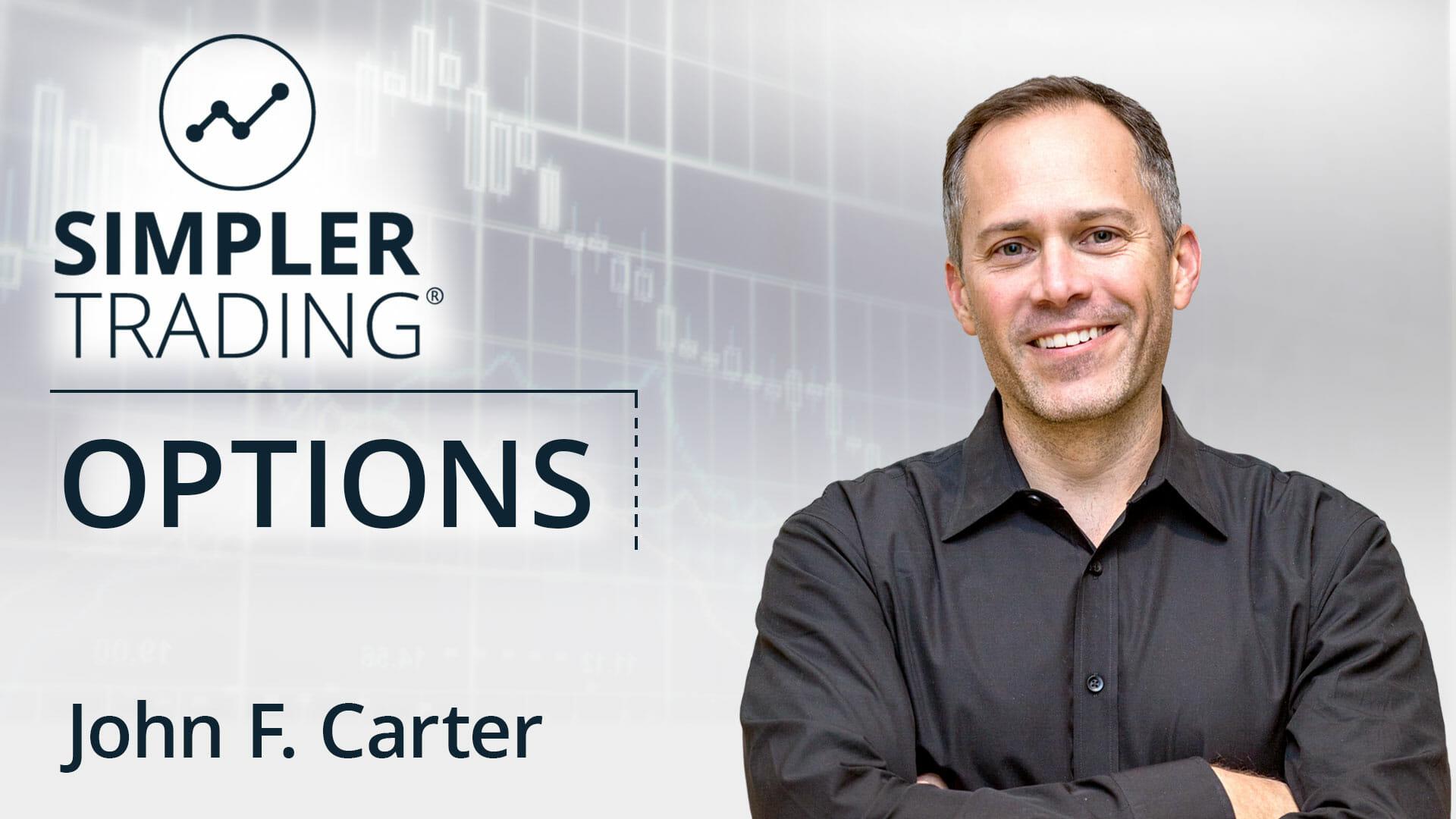 John Carter options daily