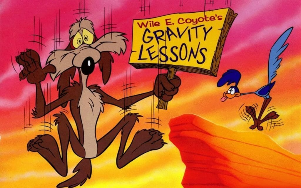 Wile-E-Coyotes-Gravity-Lessons-1440x900-Wallpaper-ToonsWallpapers.com--min